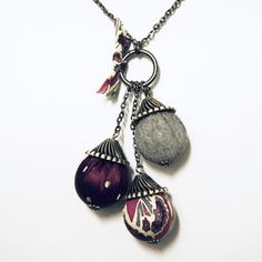(5) Fab.com   Jewelry From France - fabric covered beads