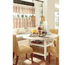 shayne round drop leaf kitchen table 49 x 26 antique white - Round Drop Leaf Kitchen Table
