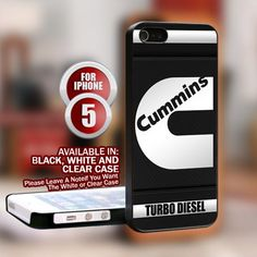 Turbo Diesel Dodge Cummins for iPhone 5 case cover