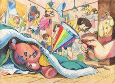 건국대 Somewhere Over, Over The Rainbow, Markers, Art Drawings, Lens, Portraits, Layout, Cartoon, Illustration
