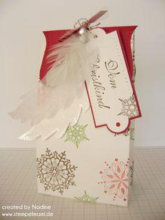 One Sheet Box Verpackung Goodie Swap Box Gift Box Give Away Stampin Up 069
