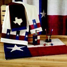 Charmant Avanti Texas Star Bathroom Accessories Collection