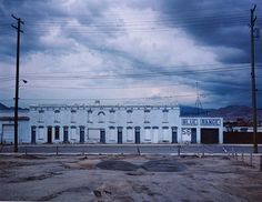 WIM WENDERS  Blue Range, Butte, Montana, 2000  Lightjet Print  49 1/4 X 59 7/8 inches  Edition of 6