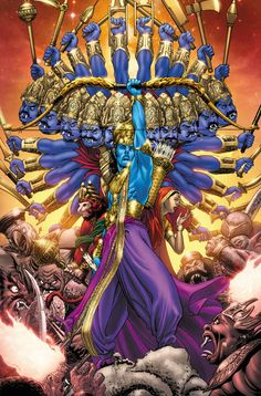 Ramayana, Lines by Tony Parker, Color by Blond The Colorist Shiva Art, Ganesha Art, Krishna Art, Hindu Art, Hare Krishna, Durga Images, Lord Krishna Images, Dussehra Wallpapers, Dussehra Images
