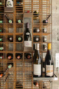 Wine Cellar Basement, Wine Cellar Racks, Wine Shop Interior, Shop Interior Design, Steampunk Kitchen, Cave Bar, Bar A Vin, Log Home Interiors, Home Wine Cellars