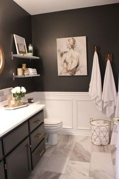 √ A Lot Of Lovely Master Restroom Ideas That Deserve Monitoring For Tags: master bathroom ideas on a spending plan, rustic master bathroom concepts, master restroom remodel, black master restroom ideas, master restroom decoration ideas Rustic Master Bathroom, Bathroom Interior, Bathroom Black, Budget Bathroom, Bathroom Small, Bathroom Art, Bathroom Vanities, Bathroom Furniture, Bathroom Colors