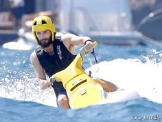 Shirtless Jared Leto Vacations On A Boat In Capri, Italy