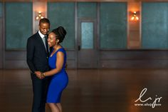 Real Engagements {Chicago}: Ruth & James! - Blackbride.com captured by Olu Akintorin of OluJr Photography!
