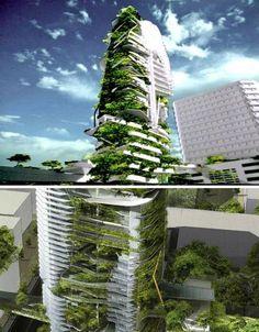 Skyline farming