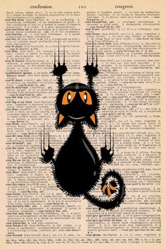 Free Halloween Dictionary Page Printables • Rose Clearfield Halloween Scene, Halloween Prints, Halloween Quotes, Creepy Halloween, Halloween House, Halloween Themes, Vintage Halloween, Halloween Decorations, Halloween Music