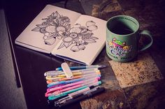 Moleskine & coffee;
