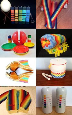 A Rainbow Of Color. by livingavntglife on Etsy--Pinned with TreasuryPin.com
