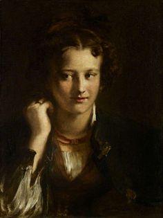 The Artist's Niece, Sophia Wilkie, Later Mrs James Winfield, 1829, by David Wilkie (Scottish 1785–1841)