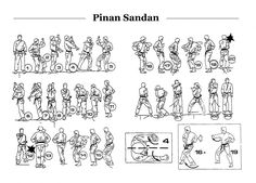 Pinan Sandan 7 should be a low block, and there are inside crescent kicks before each of the three horse stance and shoulder strikes. Not a bad diagram, but not the easiest way to learn kata.