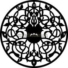 DXF Plans Downloads - clock
