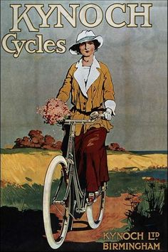 Bicycle poster ~ 1920's