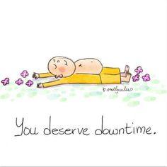 Você merece tempo de inatividade