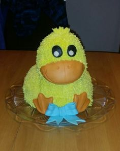 Kuschlige Ente aus Buttercreme