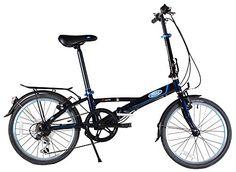 Ford by Dahon Muon 7 Speed Folding Bike (Wheel/Frame Size Black >>> See this great product. Buy Bike, Bike Run, Mountain Bikes For Sale, Mountain Biking, Car Bike Rack, Best Road Bike, Beach Cruiser Bikes, Folding Bicycle, Specialized Bikes