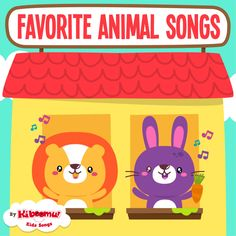 Fun-to-teach, fun-to-learn Animal Songs featuring a wide variety of animals, the sounds and actions they make! #preschool #kidsongs