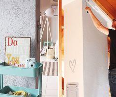 Das Eigene Zuhause Streichen: Freundliche Farbkombinationen Mit Alpina  Feine Farben No. 16 Steinblaue Schönheit