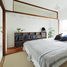 MUJI×UR団地リノベーションプロジェクト、神戸の多聞台団地、plan31のモデルルーム。来年1/21(土)から入居受付開始。 #無印良品 #無印良品の家 #団地 #mujiur #賃貸 #リノベーション #暮らし #シンプルライフ #ミニマリスト #寝室 #ベッドルーム #ベッド #シンプル #収納 #神戸 #和室 #muji #mujihouse #room #home #homedecor #renovation #interior #interiordesign #design #simple #minimal #minimalist #bedroom #japan