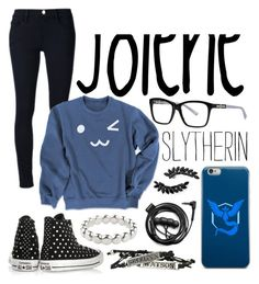 """""""Jolene"""" by iamnumber-fou on Polyvore featuring Cristabelle, Frame Denim, Nina Ricci, Converse, Forever 21, Valor and Vicky Davies"""
