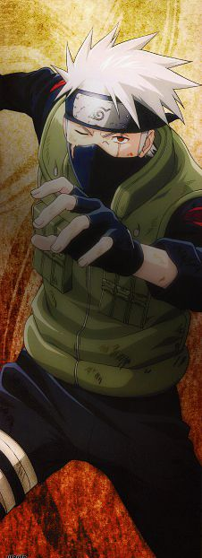 Hatake Kakashi: I think this is a damn good tattoo design for someone special I know <3