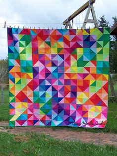 Busy Hands Quilts: Blogger's Quilt Festival - Fall 2015 - Queen Postcard From Sweden!