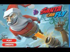 Santa Can Fly Gameplay