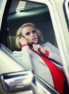 spy games: marleen gaasbeek by corrie bond for marie claire australia