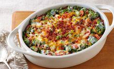 Creamy Broccoli-Bacon Bake | 50 Thanksgiving Foods Full Of Bacon