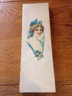 Elegant vintage glove box by stuffinthetrunk on Etsy