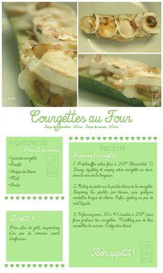 Les Gourmandises de Jelly: ♥ 047 • Courgette au four ♥