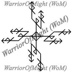 Автор WarriorOfMight От автора Усиленный вариант Изгоняющего креста. Состав: Райдо + Наутиз - Изгоняющий крест Тейваз - собственно пендаль Ингуз - подпитка. Бы