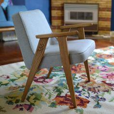 original model 366 armchair by józef chierowski; ostblock.