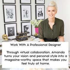 Amanda Aerin is an interior designer based in Toronto, Canada. Design Concepts, E Design, Interior Design, Start Time, The Struts, Hgtv, Timeline, Design Projects, Dyi