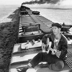 David Carradine during the filming of Boxcar Bertha in 1972