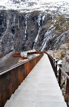 ✮ Trollstigen Tourist Route, Norwegian Mountains #Norway ☮k☮ #Norge