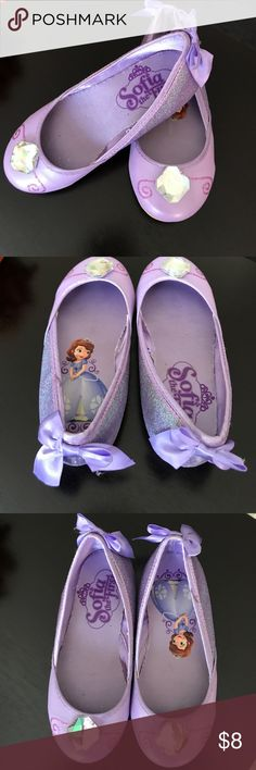 Girls Sofia the First Shoes Light purple Sofia the first princess shoes, by Disney, size 11/12. Shoes