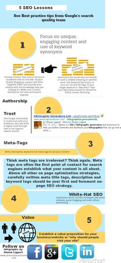 SEO Best Practice tips from Google's search quality team!  #SEO  http://bluepolointeractive.com