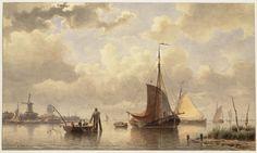 De Maas bij Dordrecht — Teylers Museum