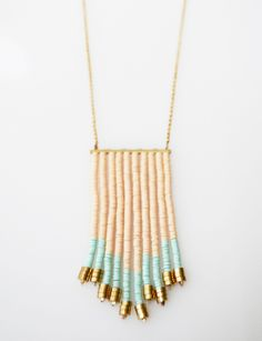 Mykonos Fringe Necklace