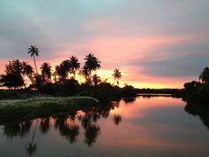 Sunset in Tangalle, Sri Lanka