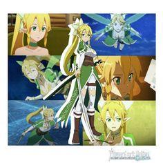 Leafa Sao, Kirito, Manga, One Punch Anime, Sword Art Online Asuna, Anime Characters, Fictional Characters, Kingdom Hearts, Vocaloid