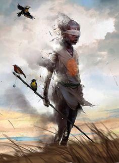 Pintura digital de ADAMS BRENOCH.