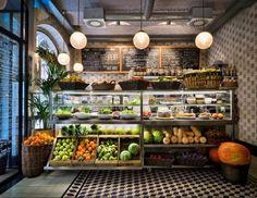 Vegetarian restaurants, the menu, juice store, commercial kitchen design, k Decoration Restaurant, Deco Restaurant, Restaurant Design, Top 10 Restaurants, Barcelona Restaurants, Vegetarian Restaurants, Shop Interior Design, Cafe Design, Design Art