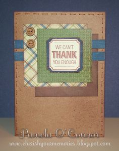 CTMH Victory Thoughtful Tidings card