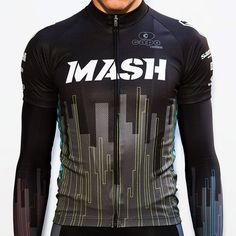 RGB Jersey | Mash SF -- *grey vertical lines transition into treeline sillhouette*