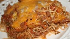 You can always count on a Paula Deen recipe to be great and this Baked Spaghetti is no exception. This recipe is one of the best Baked Spaghetti recipes I've tried. Easy Baked Spaghetti, Spaghetti Recipes, Pasta Recipes, Beef Recipes, Dinner Recipes, Cooking Recipes, Paula Dean Baked Spaghetti Recipe, Recipies, Italian Recipes